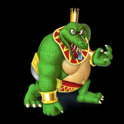 King K. Rool (Smashified, Super Sluggers outfit) by DecaTilde