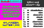 Litebulb font