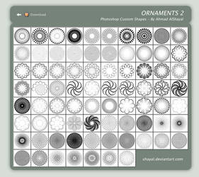 Ornaments 2 - ahmad alshayal by shayal