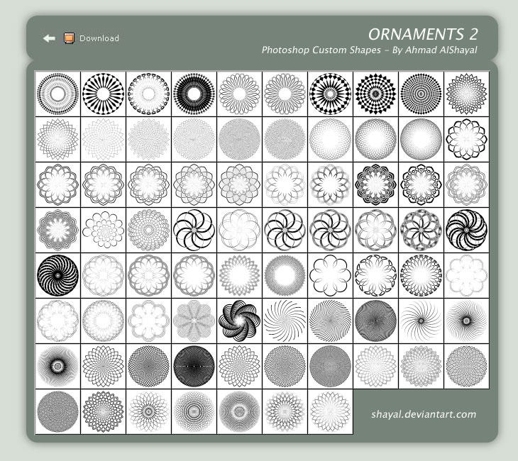 Ornaments 2 - ahmad alshayal by shayal