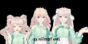 Dragon Raja Hairs