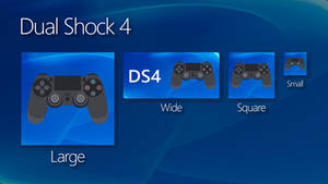 DualShock 4 Win10 Tiles