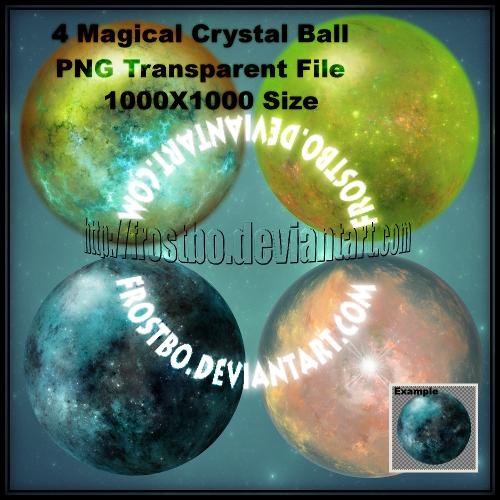 4 Magical Crystal Ball