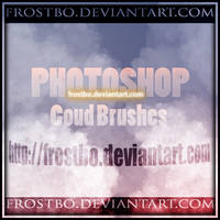 Realistic Cloud Brush for PS by FrostBo