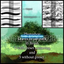 Leaves Photoshop Brush