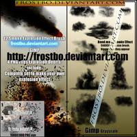 GIMP brush set Smoke + PNG by FrostBo