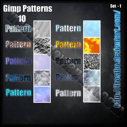 Pattern GIMP set 1 by FrostBo