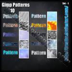 Pattern GIMP set 1
