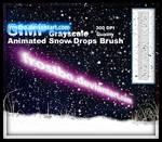 Animated Snow Brush for GIMP