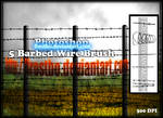 Barbed Wire Brush PS