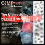 Ultimate Nebula Brushes GIMP by FrostBo