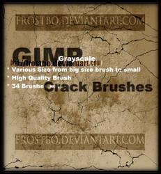Crack Brushes for GIMP