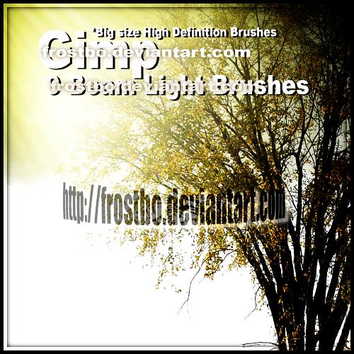 Beam Light Brushes GIMP