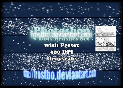 Photoshop Dot Brushes Set By Frostbo On Deviantart