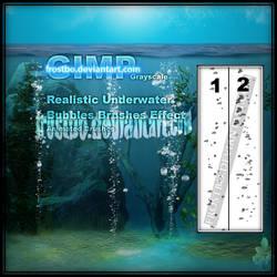 Underwater Realistic Bubble GIMP