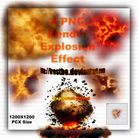 Explosion Render PNG by FrostBo