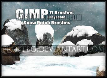 Snow Patch Brushes GIMP