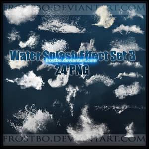 Water Splash PNG SET 3