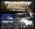 Water Splash Brushes PS SET 2