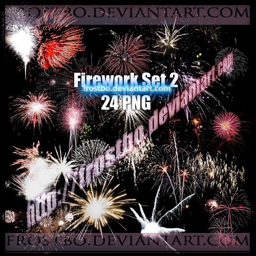 Firework PNG  Set 2