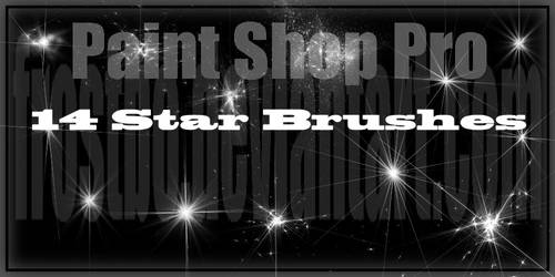 Paint Shop Pro Star Brushes