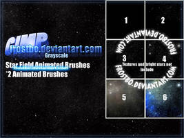 StarField Brush for GIMP by FrostBo