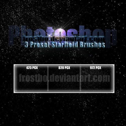 StarField Brush for PS by FrostBo
