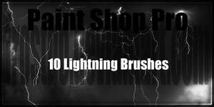 Paint Shop Pro Lightning Brushes