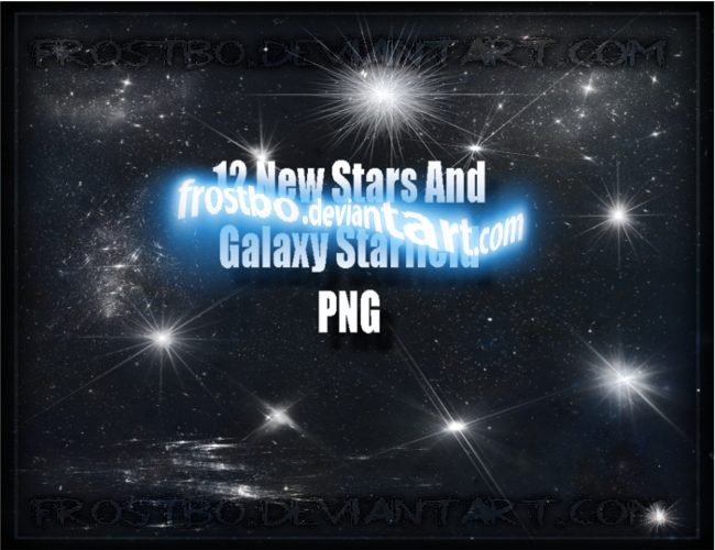 Stars PNG New render set 2