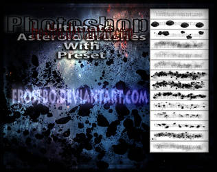 Asteroid PS Brushes Preset by FrostBo