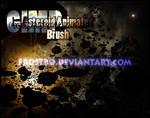 Asteroid GIMP Animated Brushes