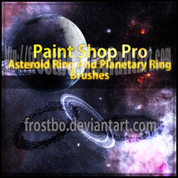 Planetary Ring and Asteroid Ring PSP Brushes