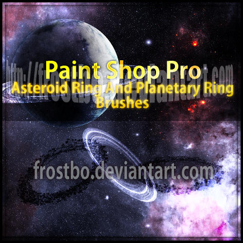 Planetary Ring and Asteroid Ring PSP Brushes by FrostBo