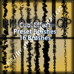 Preset Cool Effect Photoshop brushes