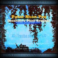 Decorative Plant Paint Shop Pro Brushes