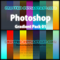 Photoshop Gradient Pack 1 by FrostBo