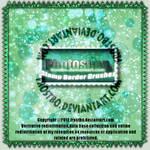 Stamp Border brushes Photoshop