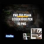 PNG Old Wood Plank