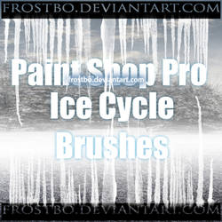 Paint Shop Pro Ice Cycle Brushes