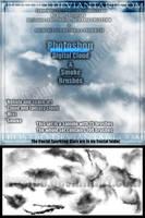 Photoshop Fantasy ,Nebula and Smoke effect Brushes by FrostBo