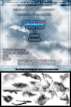 Photoshop Fantasy ,Nebula and Smoke effect Brushes