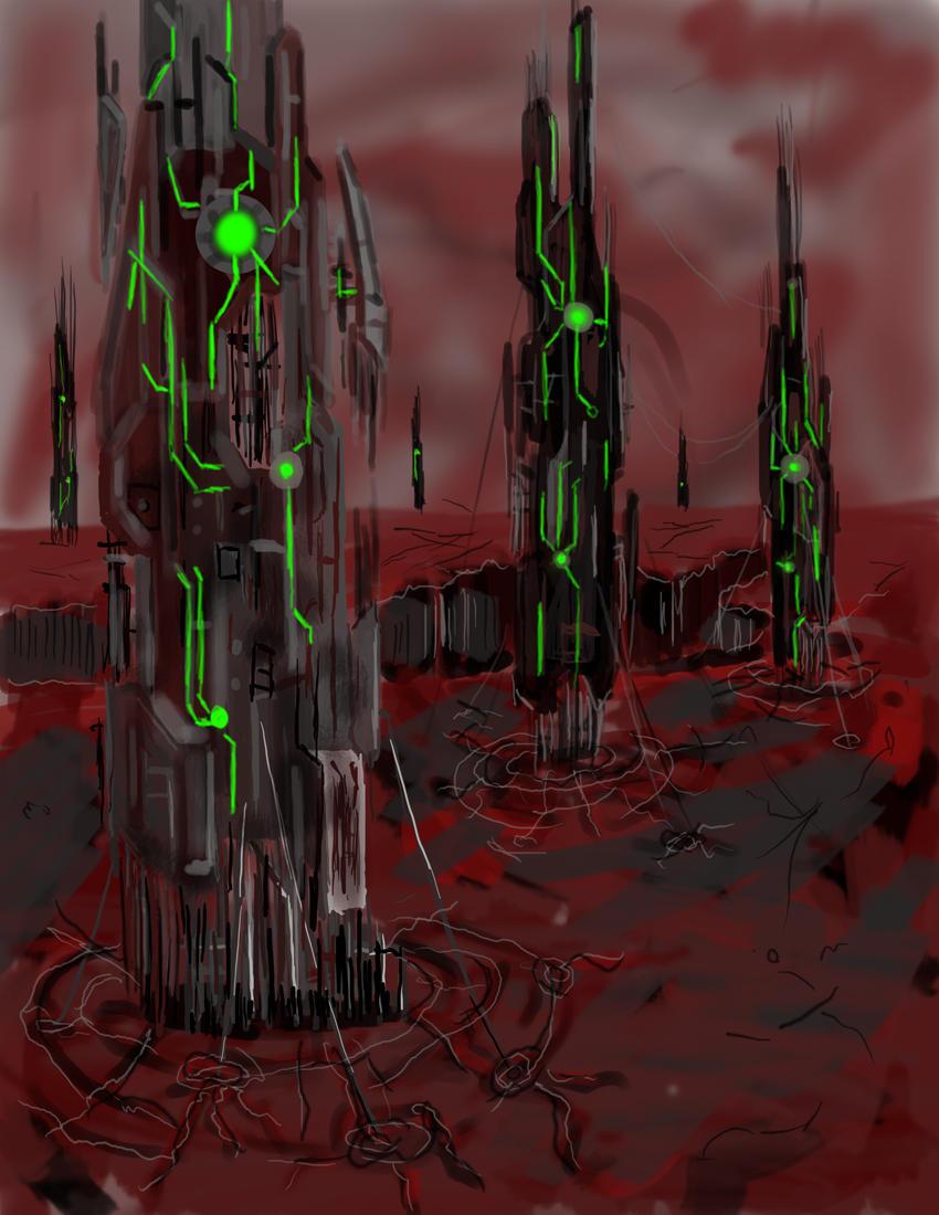 Monoliths by wyvernX