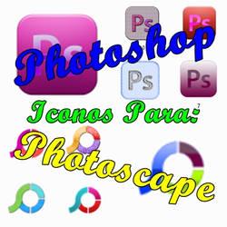 Pack de Icons para Photoshop y Photoscape