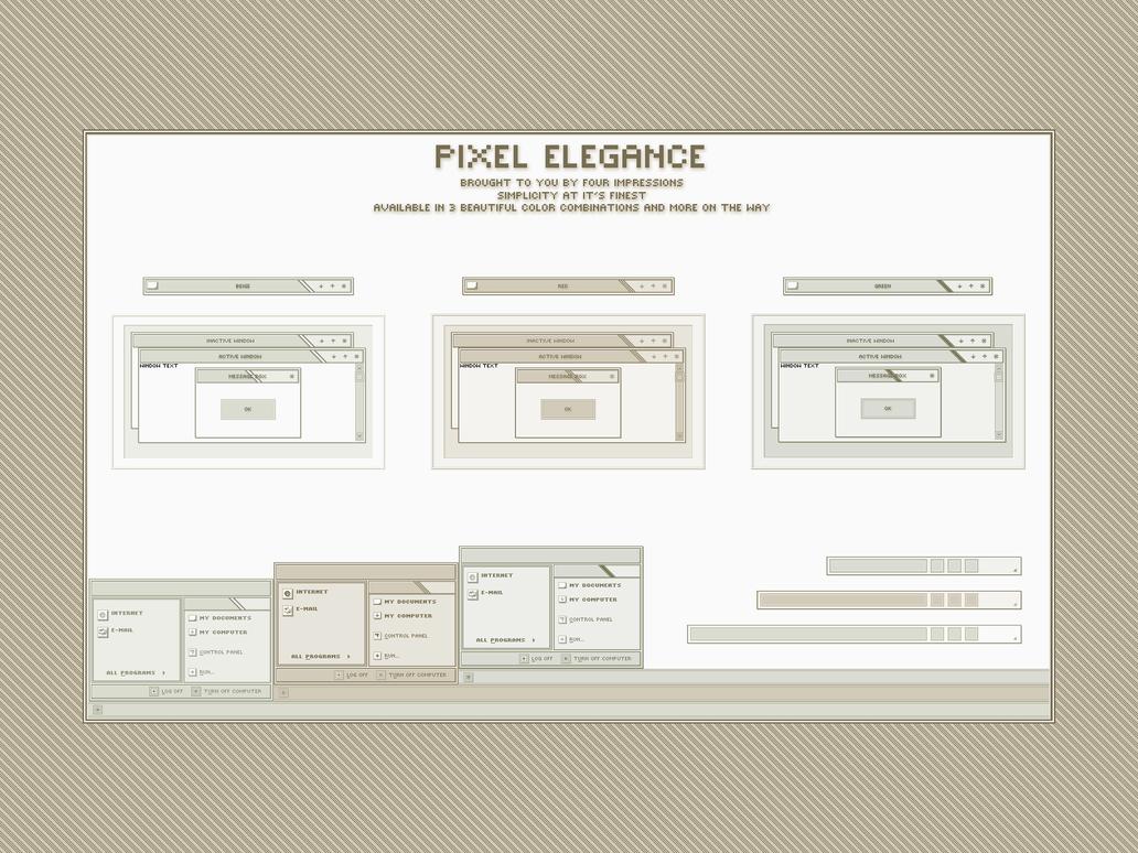 Pixel Elegance 1.0 by heylove
