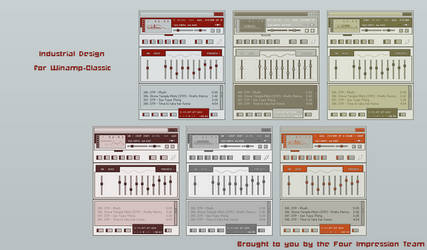 Industrial Design For Winamp