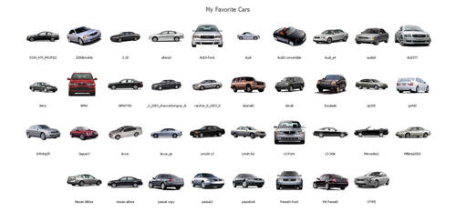 My Favorite Cars