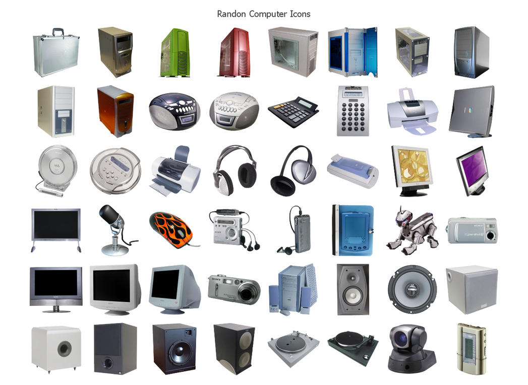 Random COMPUTER Icons by heylove