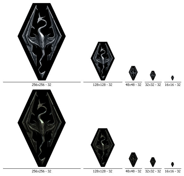 Skyrim Icons by M4chanic on DeviantArt