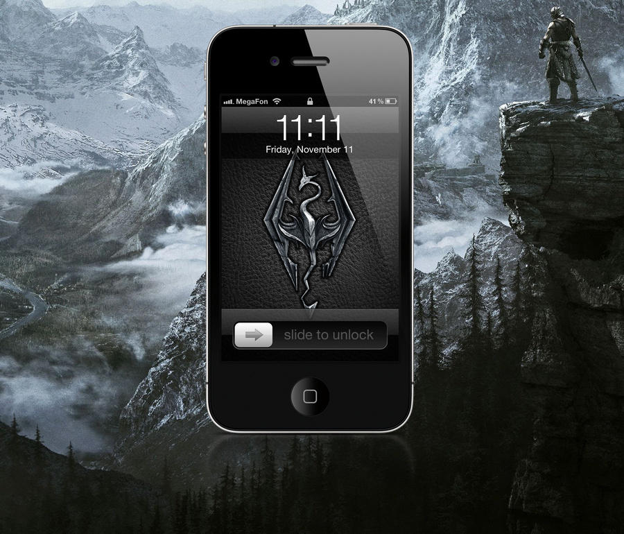 Skyrim iPhone Wallpapers by M4chanic on DeviantArt