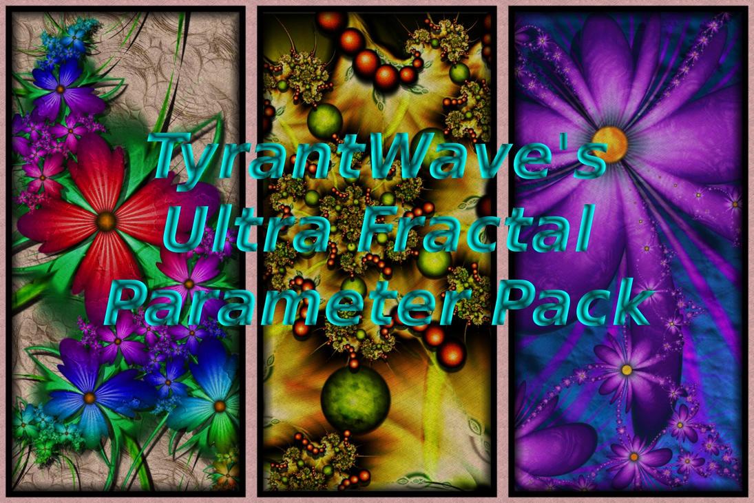 Ultra Fractal 5 Parameter Pack by TyrantWave